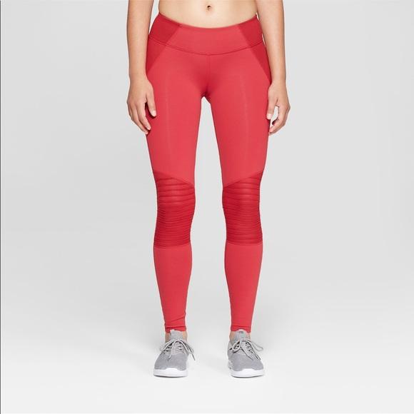 dd895f2c47b3f Joy Lab Pants | Red Moto Leggings | Poshmark